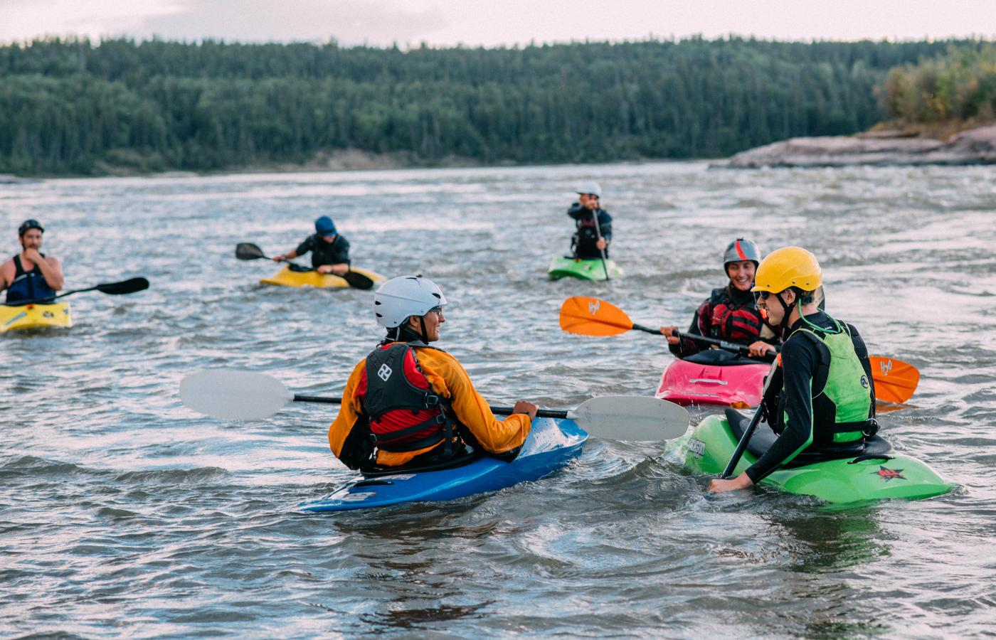 Take an instructional clinic on the Slave River in Fort Smith