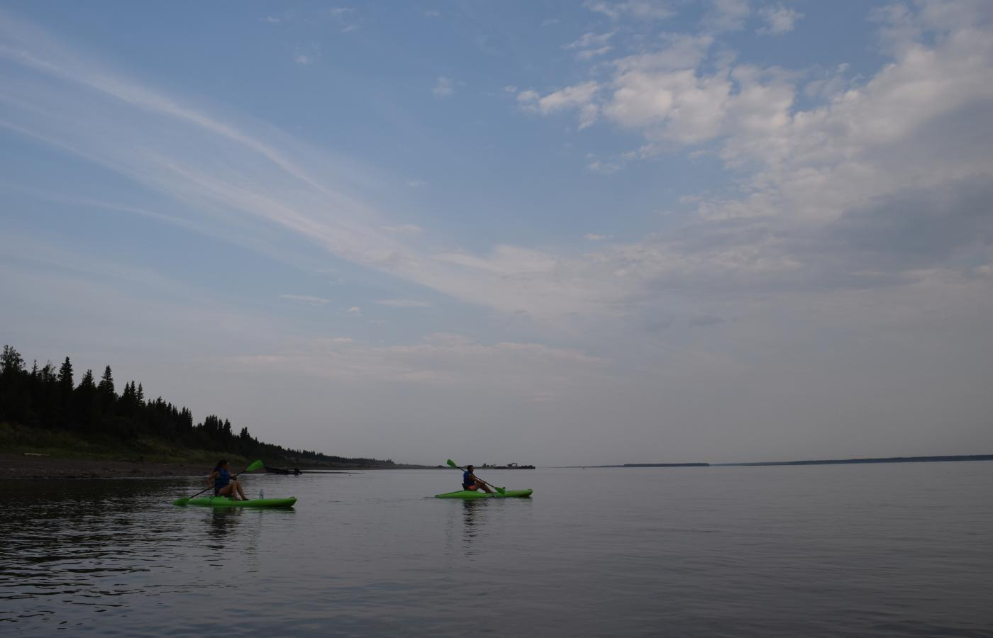 Canoe adventures in the Sahtu region of the NWT.