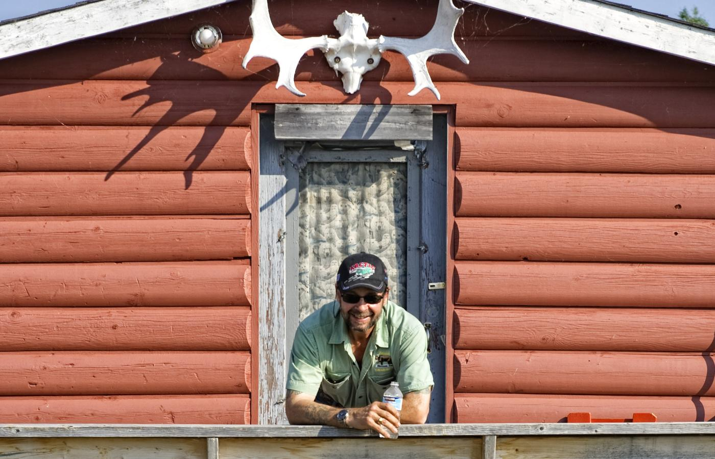 Ragnar Wesstrom, the owner of Trout Rock Lodge outside of Yellowknife, Northwest Territories, Canada