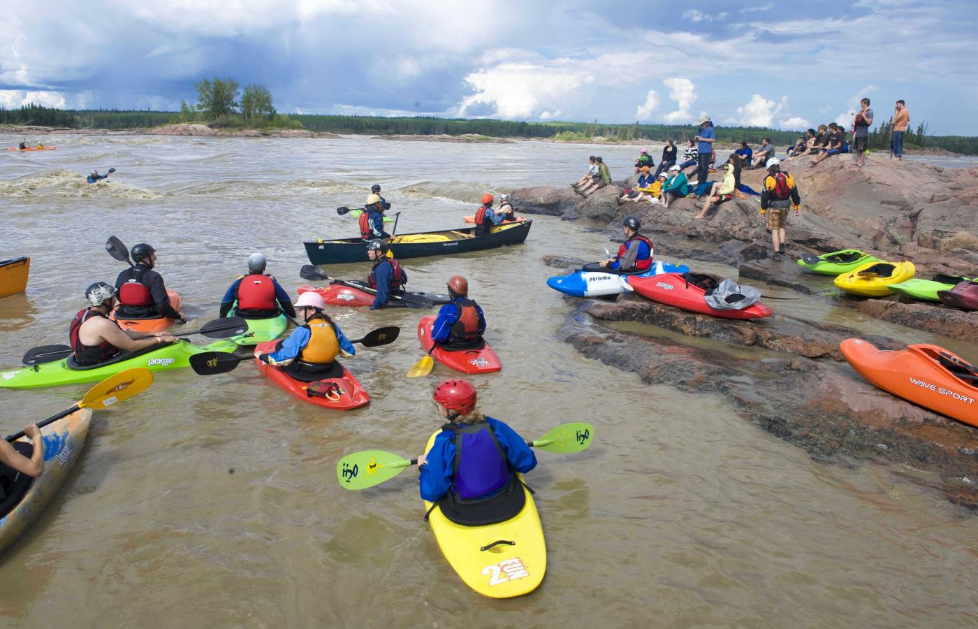 Slave River Paddlefest in Fort Smith
