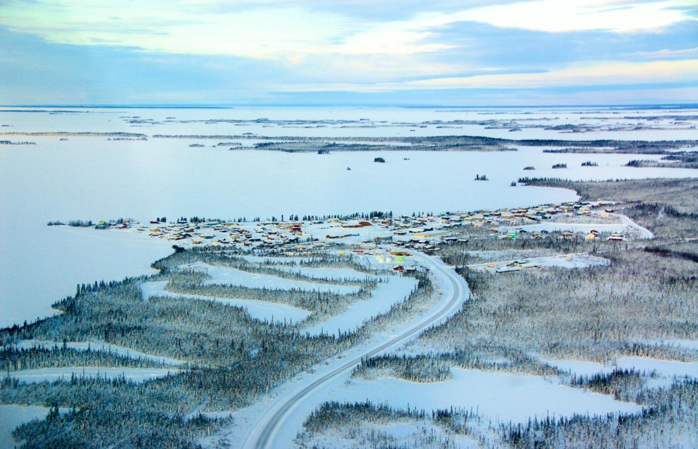 The Behchokǫ̀-Gameti Winter Road in the NWT