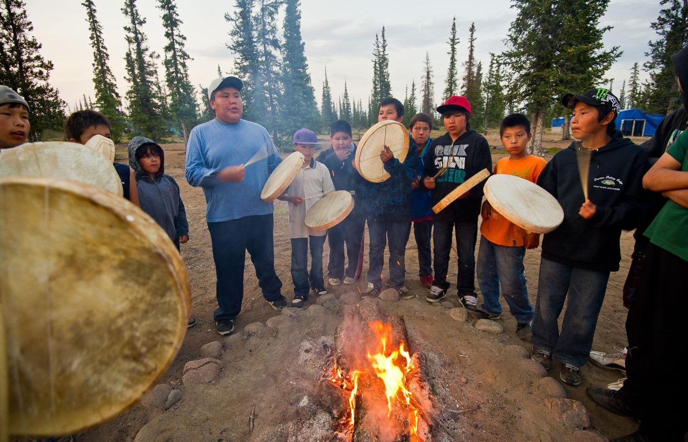 Discover Chipewyan heritage in Thaidene Nëné in the East Arm of Great Slave Lake in Canada's Northwest Territories