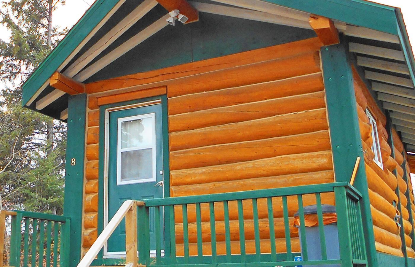 Whispering Pines Cottage in Fort Smith, Northwest Territories, Canada, is your home away from home in Wood Buffalo National Park