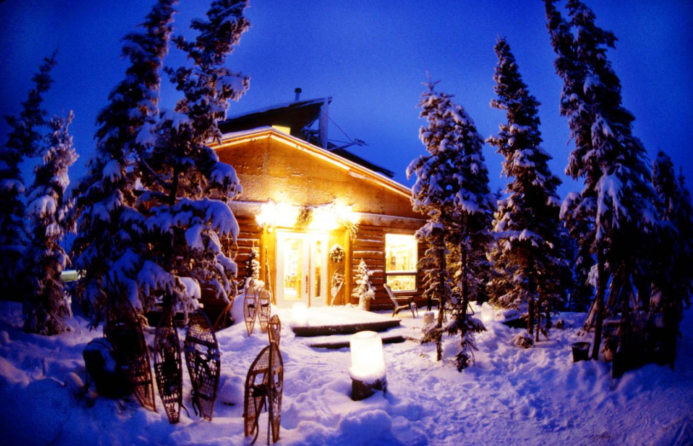 Blachford Lake Lodge is only a bush plane flight away from Yellowknife, Northwest Territories, Canada