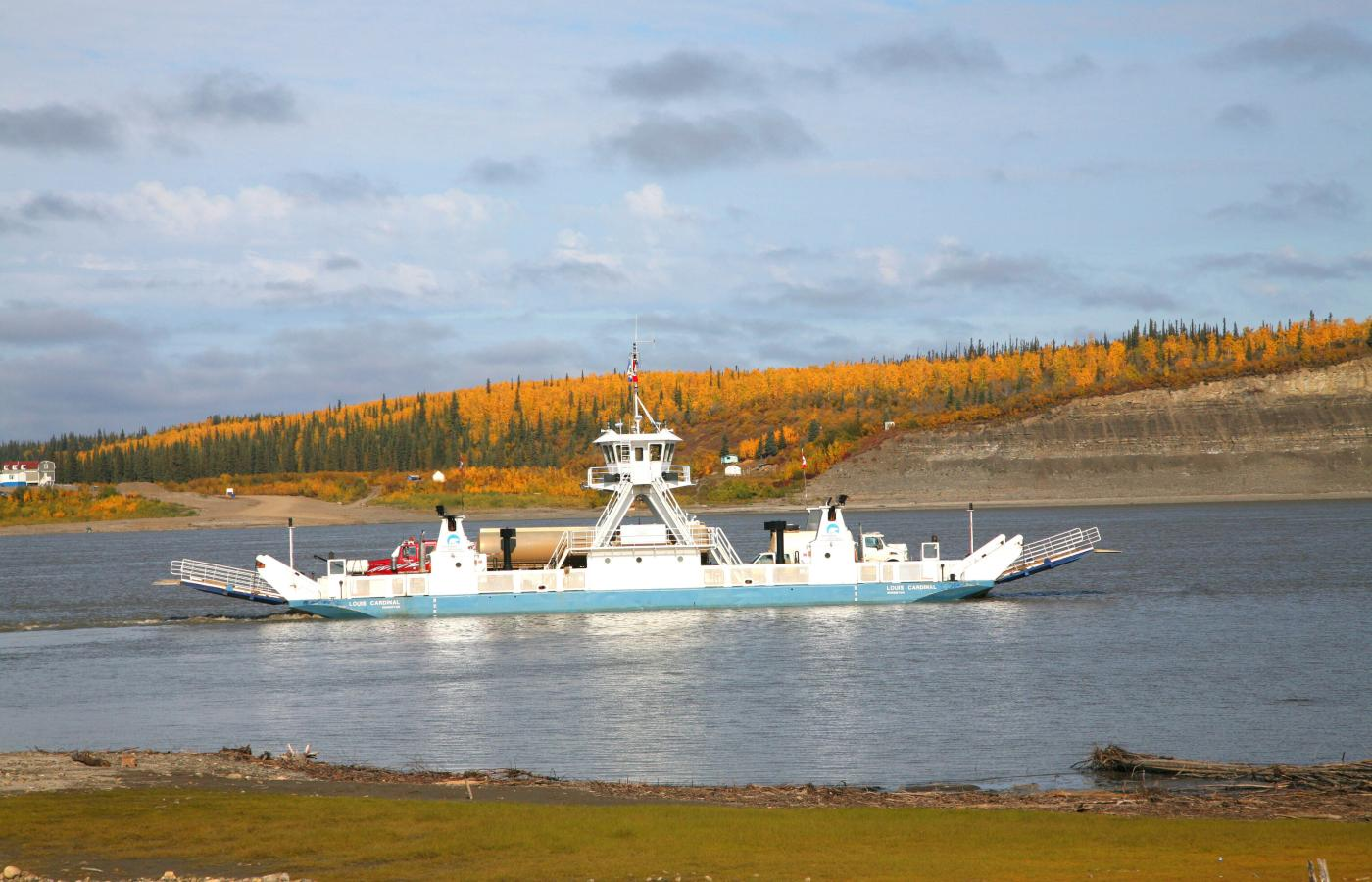 Ferries are a free boat ride in the Northwest Territories