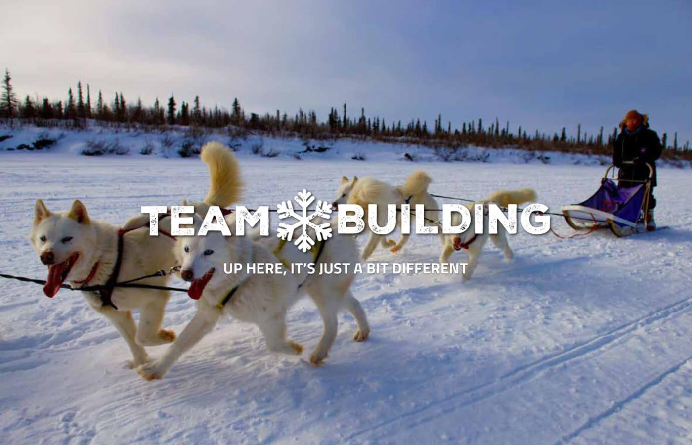 Team Building: Up here it's just a bit different