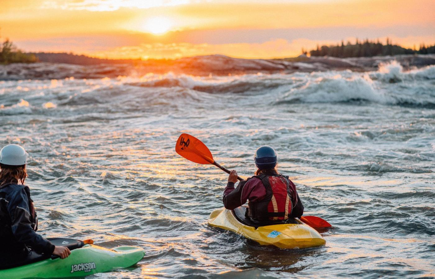 whitewater kayaking in fort smith