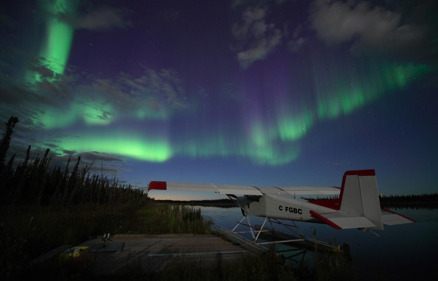 Northern Aurora Borealis viewing at Wilderness lodges
