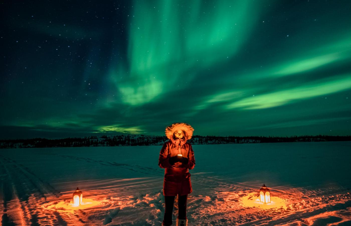 The best place in Canada to view the Northern Lights
