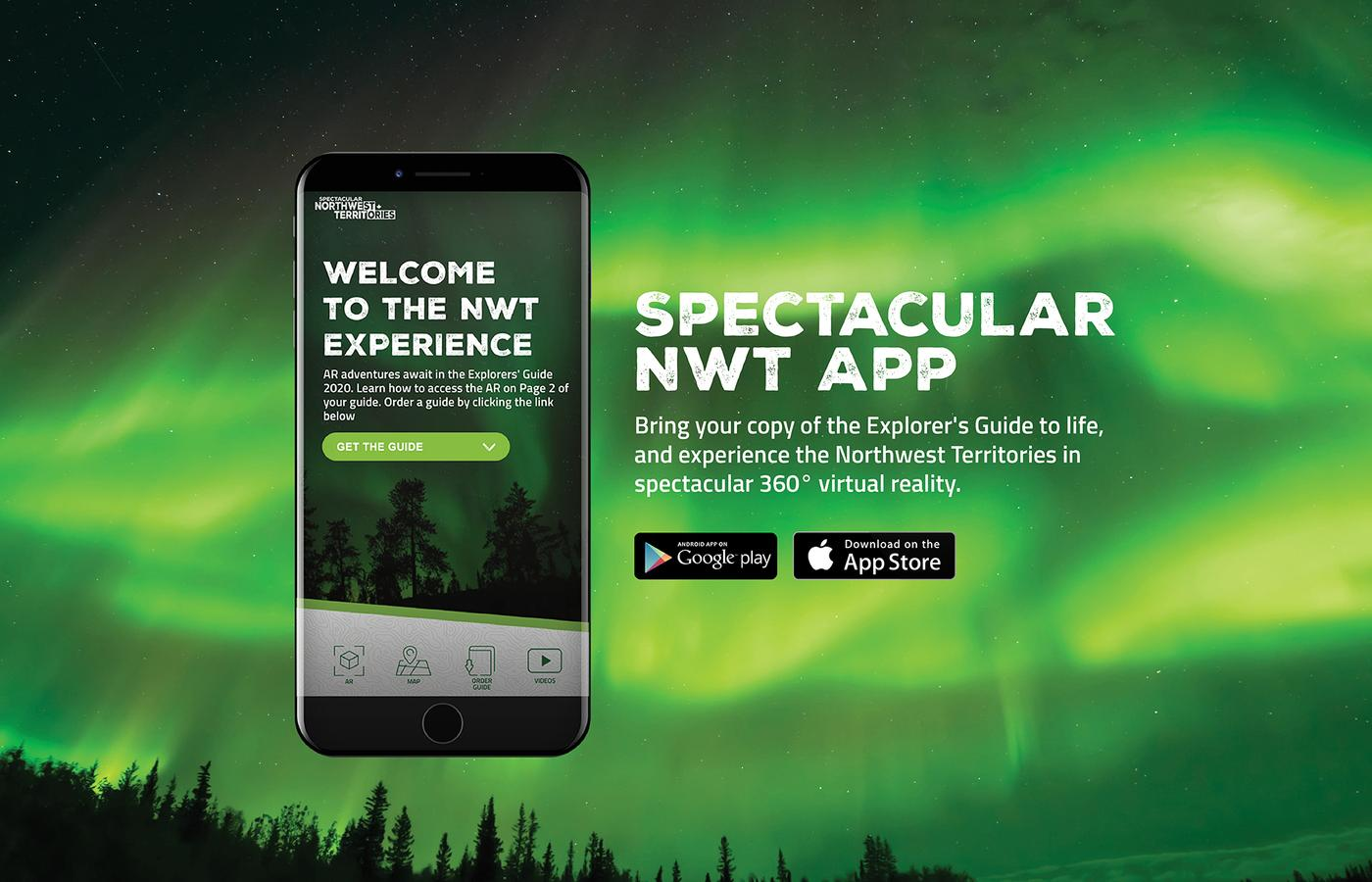 The NWT App is available on your device's app store