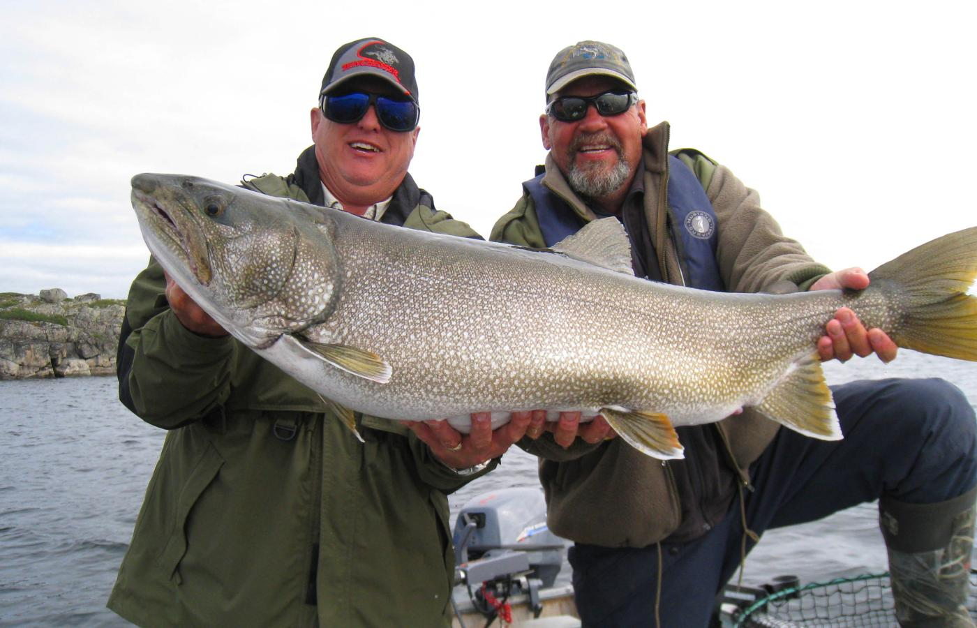 Truly divine lake fishing at Peterson's Point Lake Lodge in the Northwest Territories