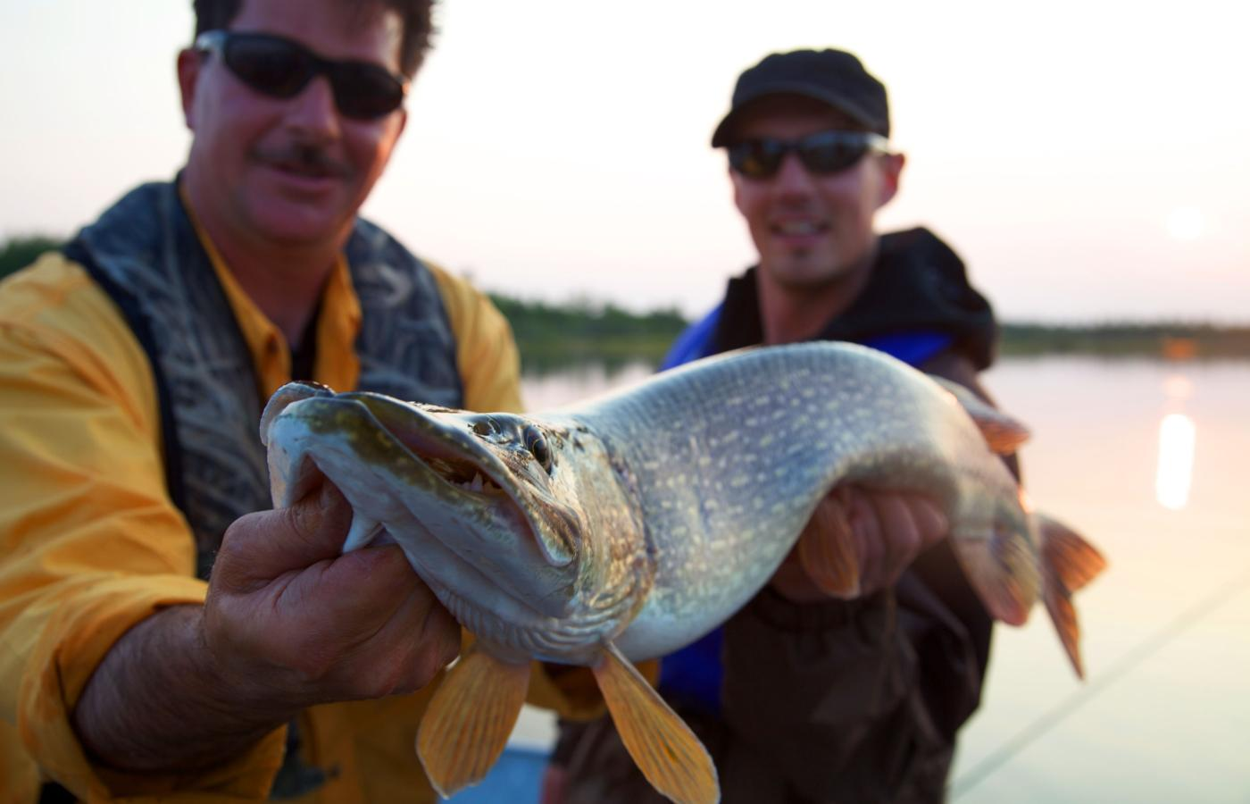 Redefine your expectations of lake fishing at Great Slave Lake, NWT