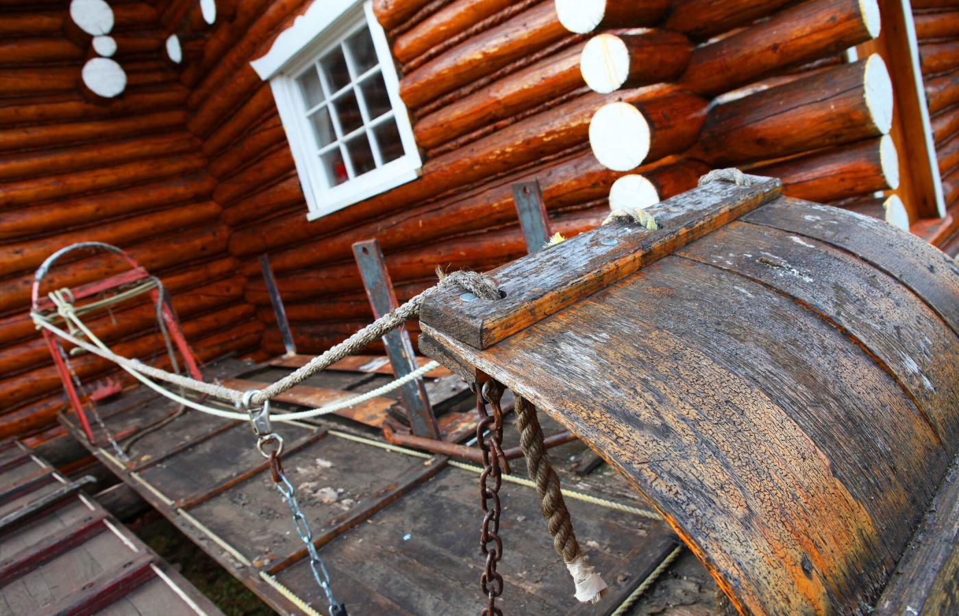 The quaint museum in Colville Lake, Northwest Territories, Canada