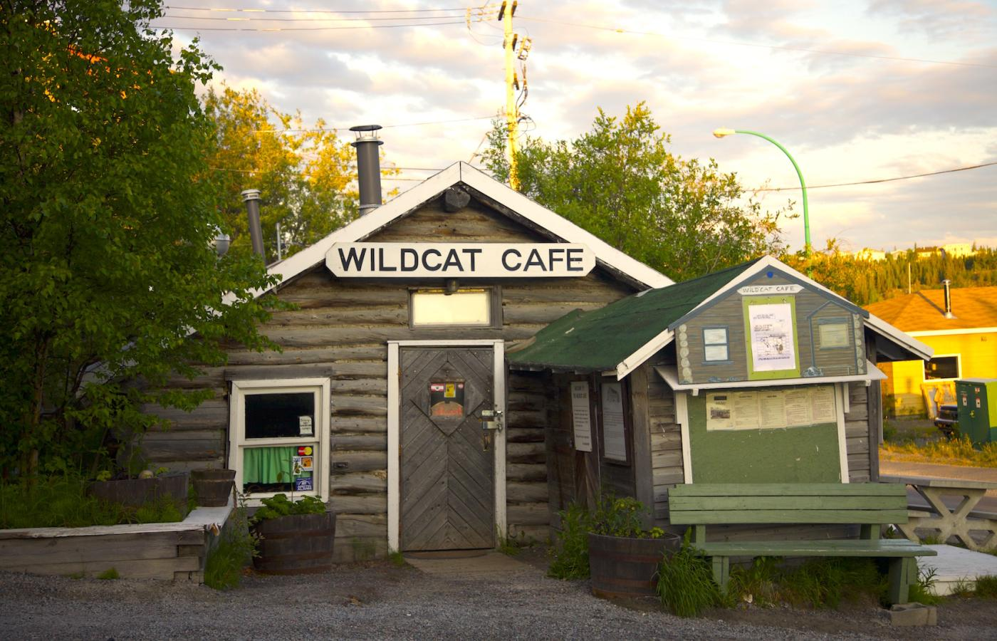 The Wildcat Cafe in Yellowknife, Northwest Territories