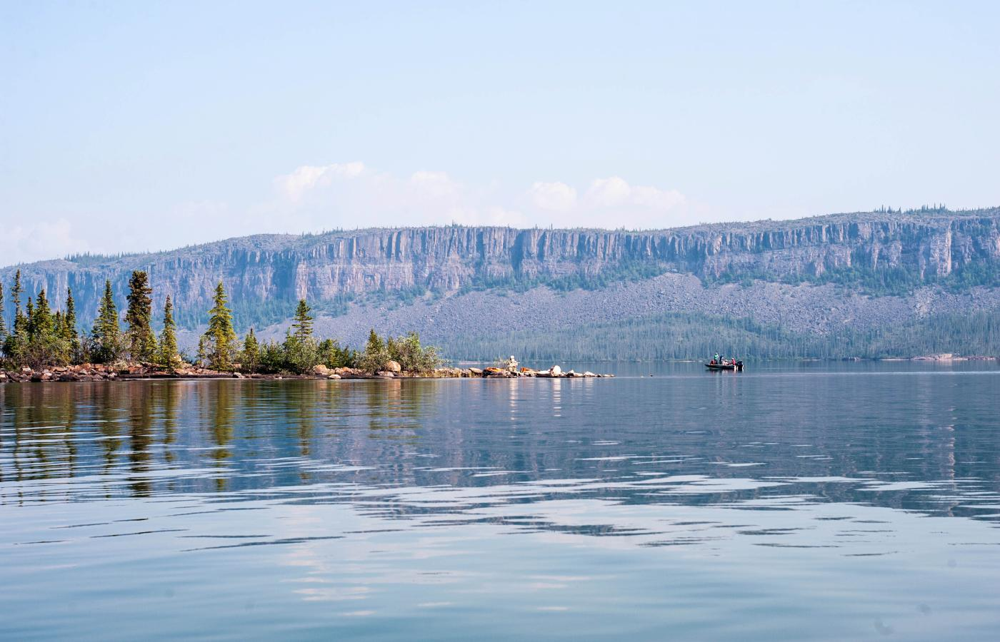 Thaidene Nëné near Lutselk'e on the East Arm of Great Slave Lake in Canada's Northwest Territories is poised to be the NWT's next national park