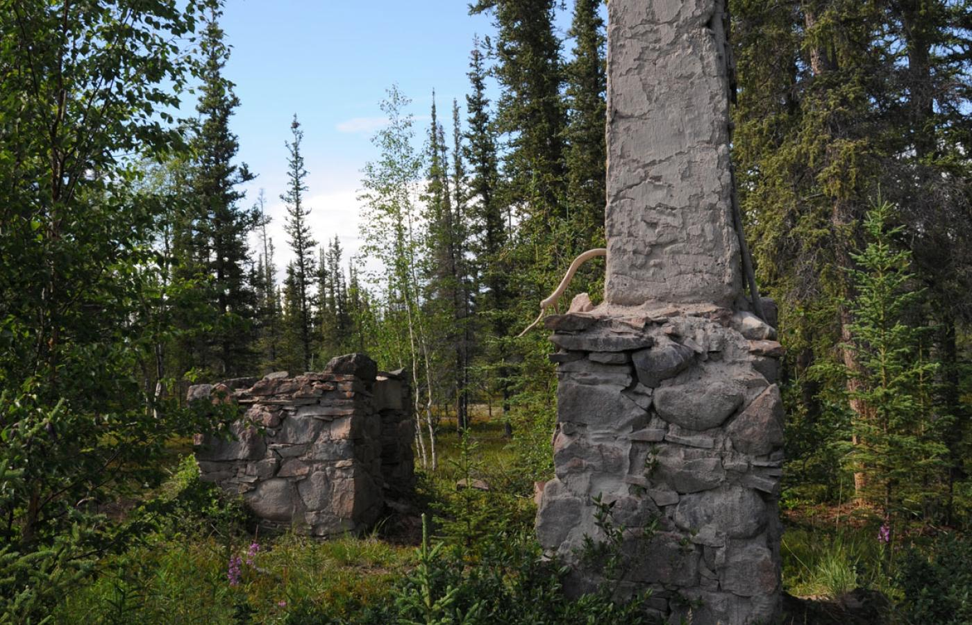 Visit historic Fort Reliance near Thaidene Nëné in the East Arm of Great Slave Lake in Canada's Northwest Territories