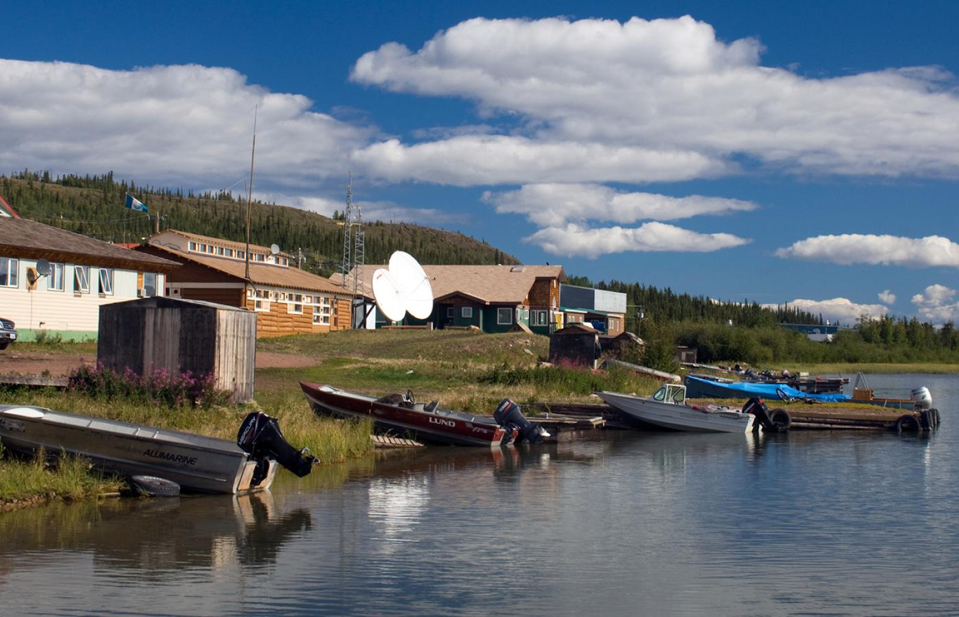 Visit Lutselk'e, the closest community to Thaidene Nëné in the East Arm of Great Slave Lake in Canada's Northwest Territories