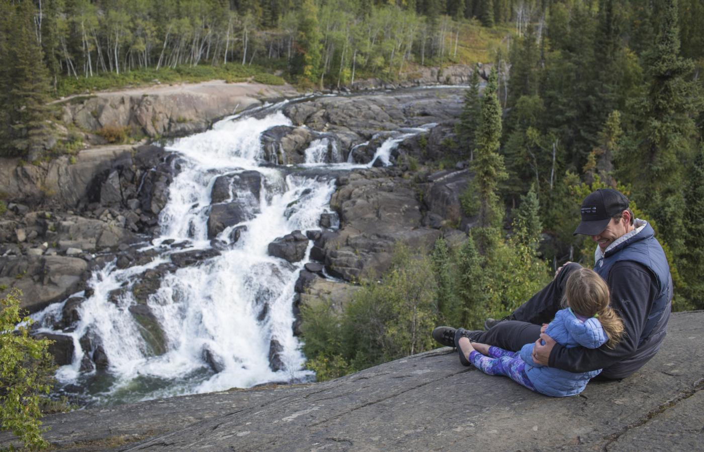 cameron falls near Yellowknife