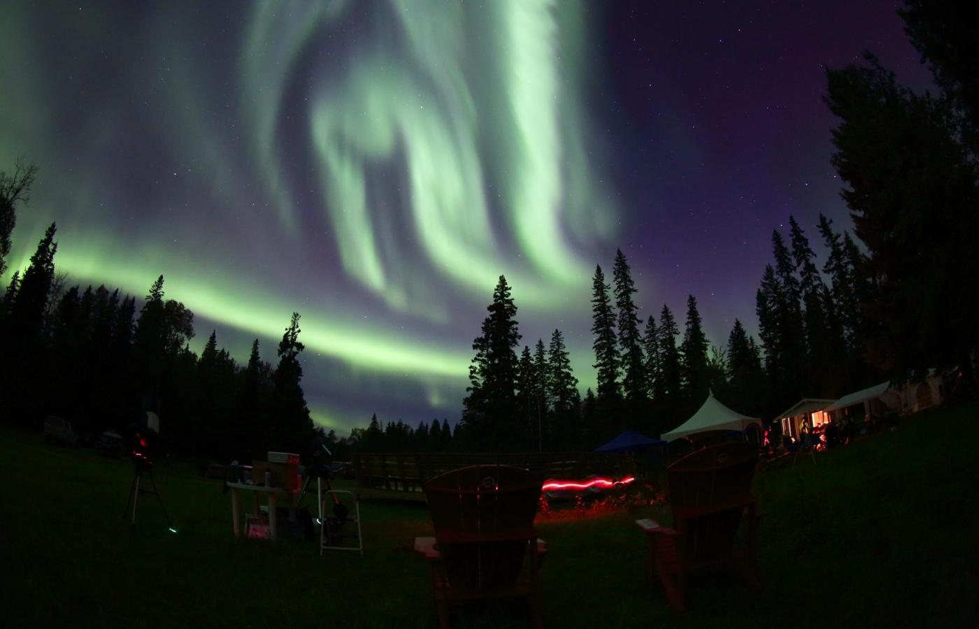 Aurora in Fort Smith NWT