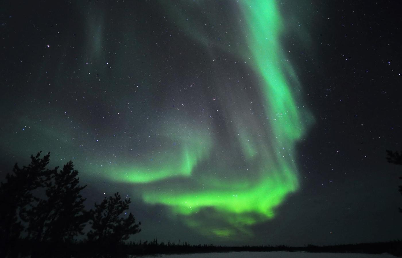 Aurora over Yellowknife