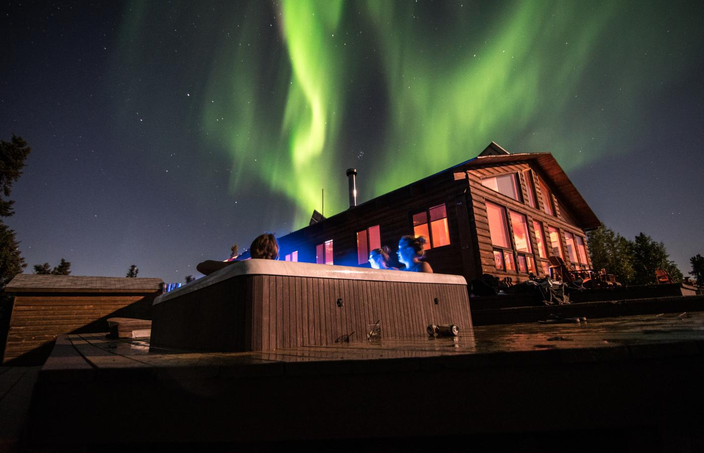 Scott Lake Lodge in the NWT.
