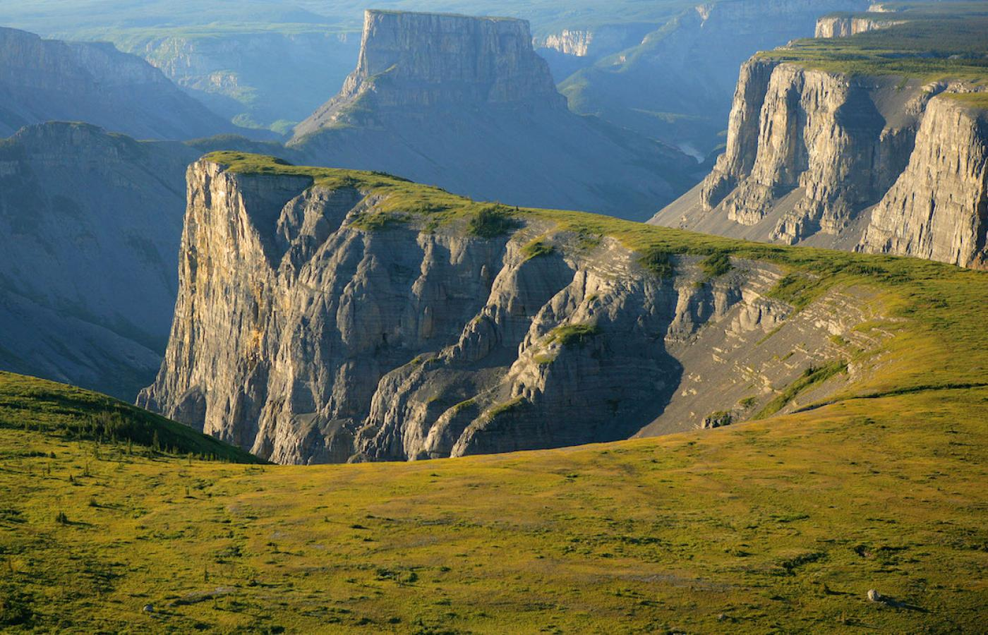 The Ram Plateau in the Northwest Territories