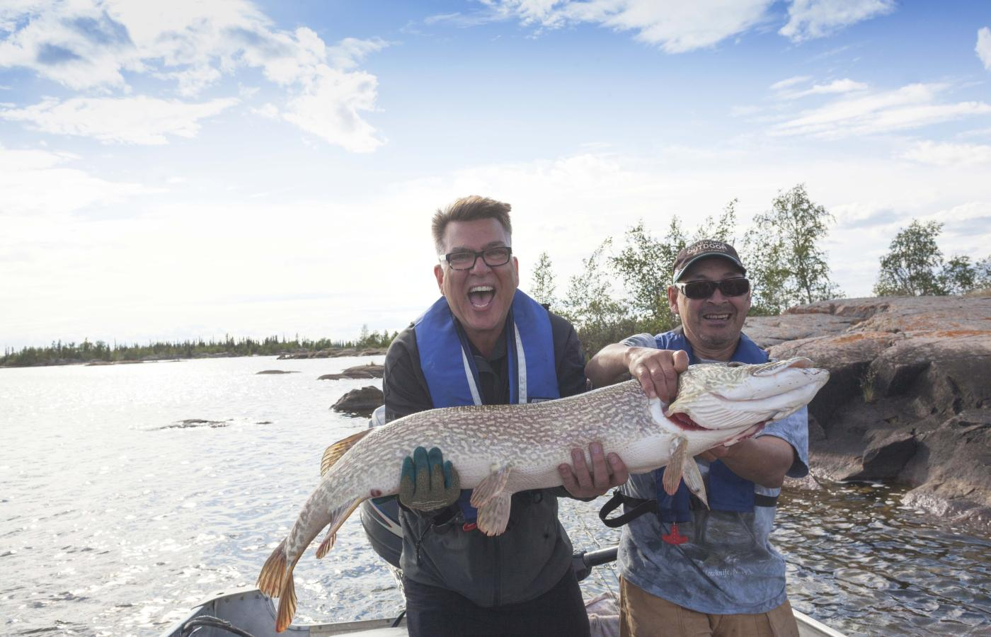 The fish in the South Slave region of Canada's Northwest Territories are really big
