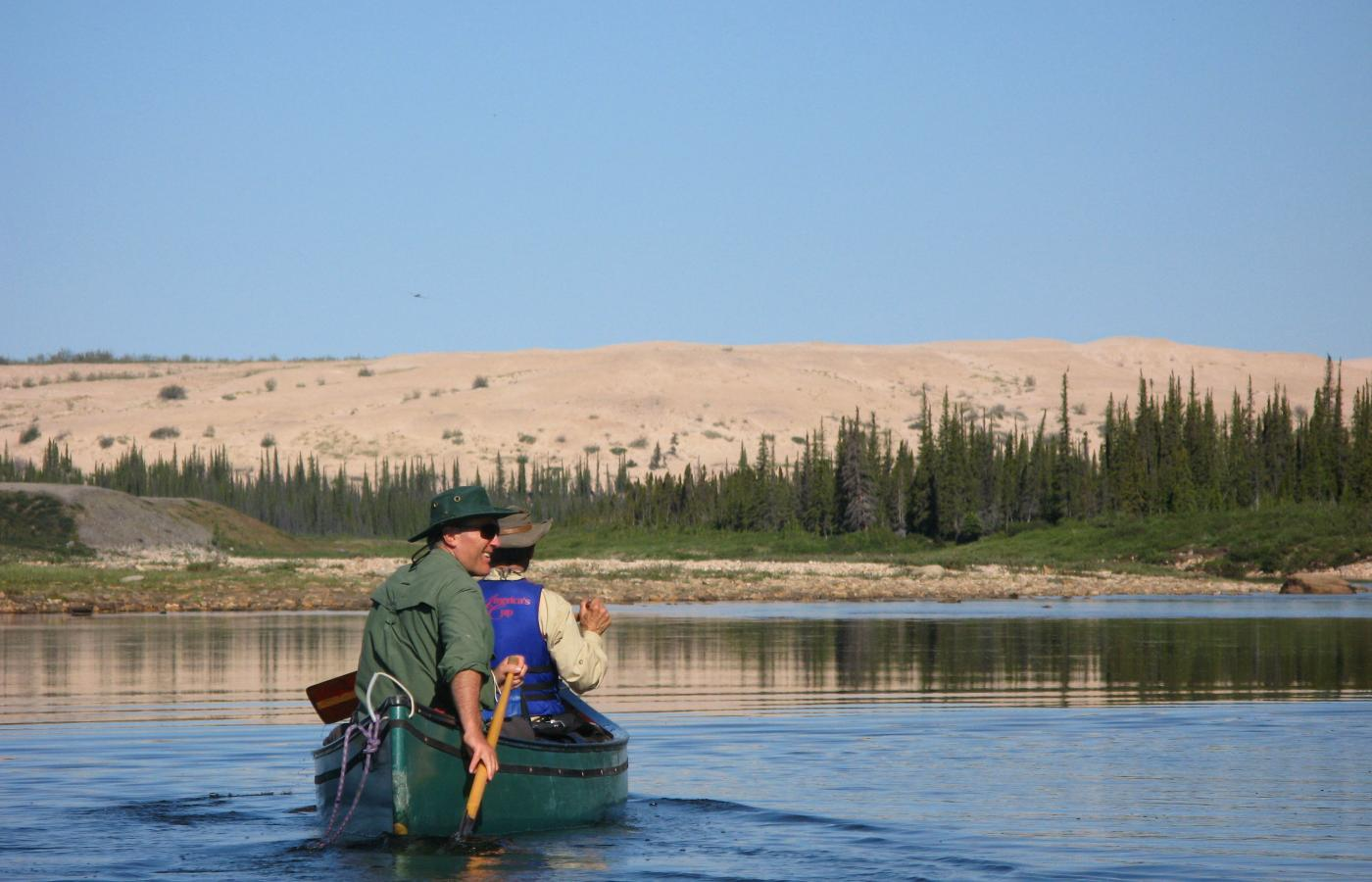 The Thelon is a classic Barrenlands River running from the NWT's North Slave to Baker Lake and Hudson's Bay in Nunavut
