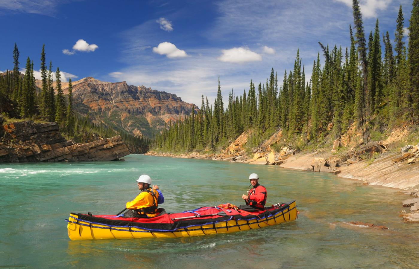 Paddling in the Northwest Territories