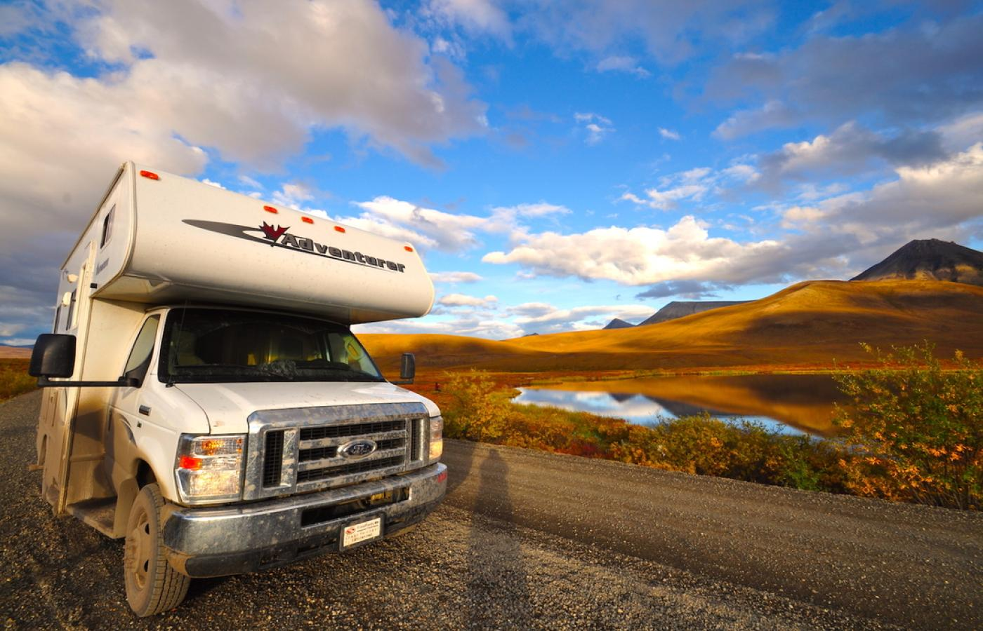 Open skies on a road trip into Canada's Northwest Territories.