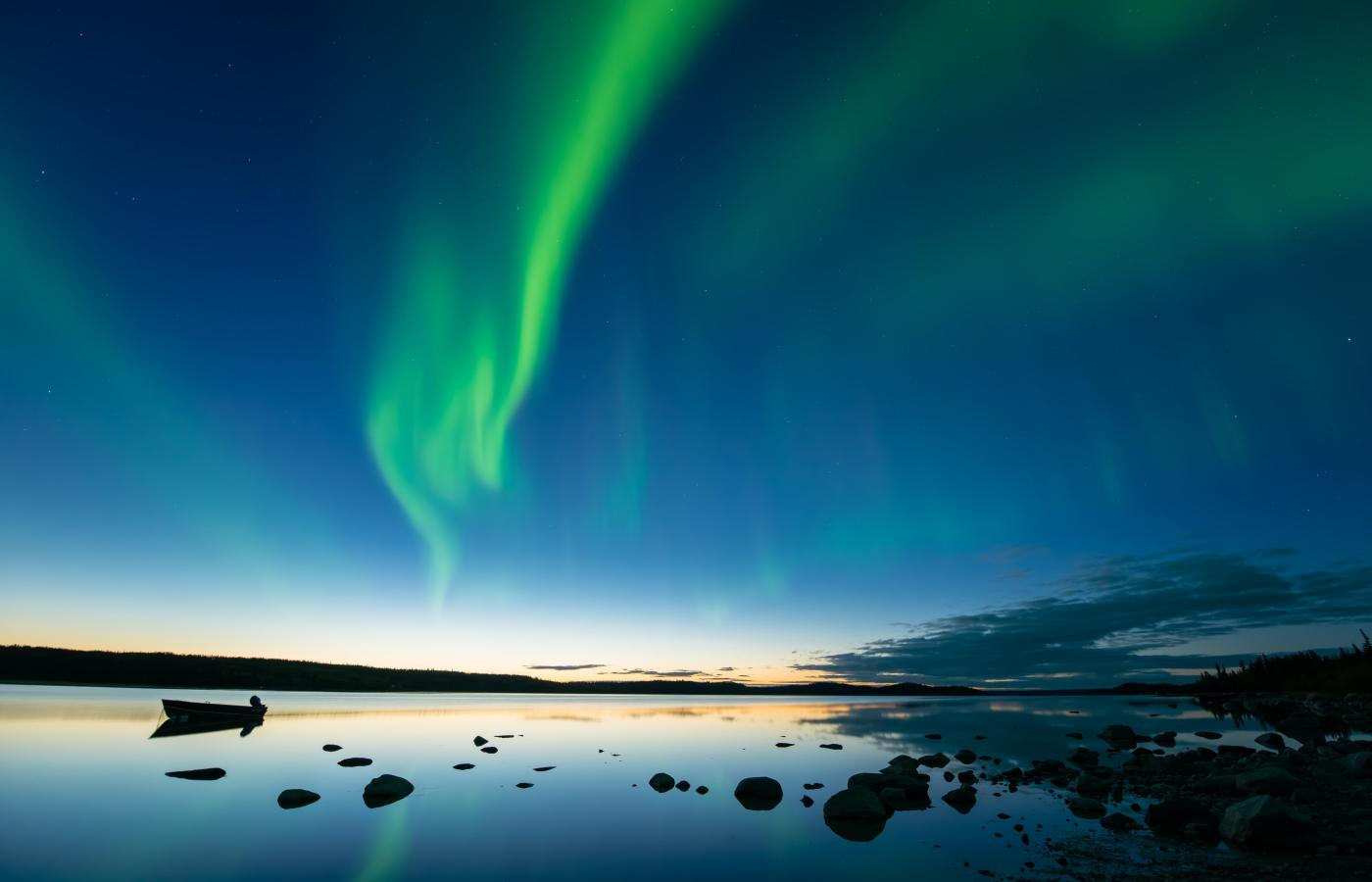 See the Aurora in the Fall season in the NWT