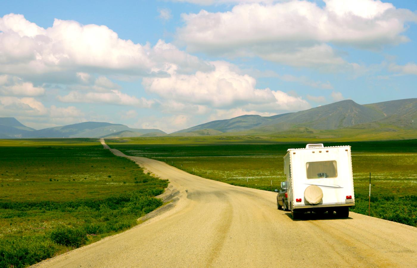 Expect wide-open spaces to beautiful places on road trips into Canada's Northwest Territories.