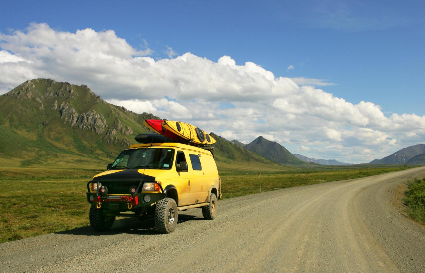 Driving the Dempster Highway to Inuvik