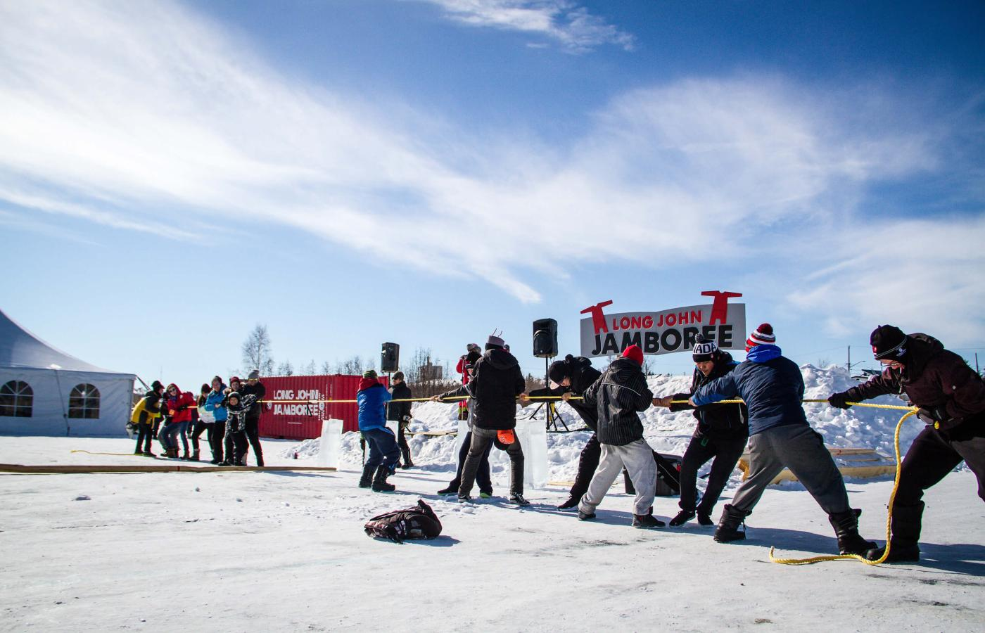 The Long John Jamboree in Yellowknife, Northwest Territories