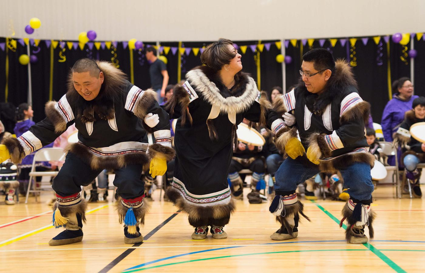 The Muskrat Jamboree in Inuvik, Northwest Territories