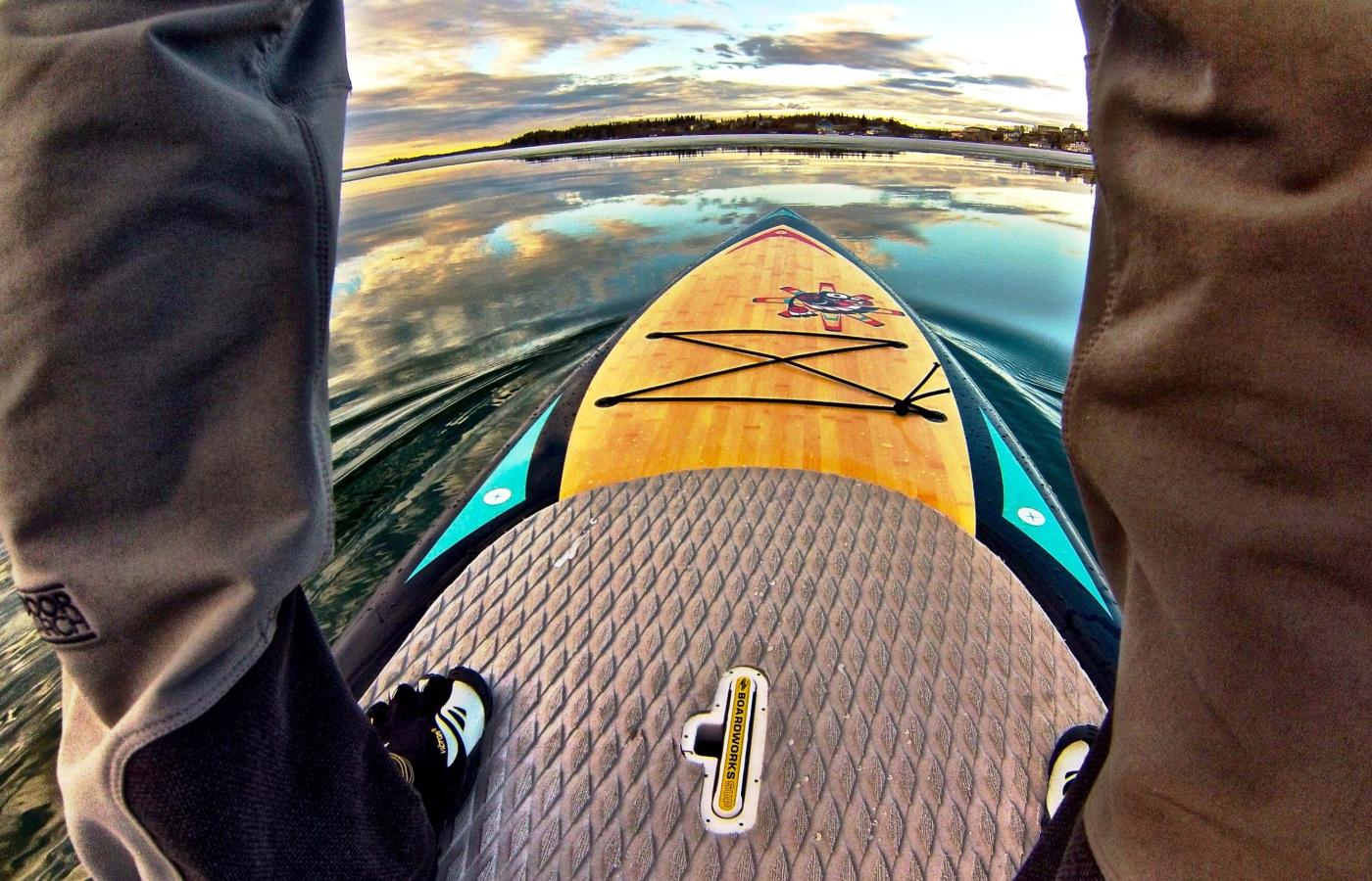 Stand-up Paddleboarding in the Northwest Territories