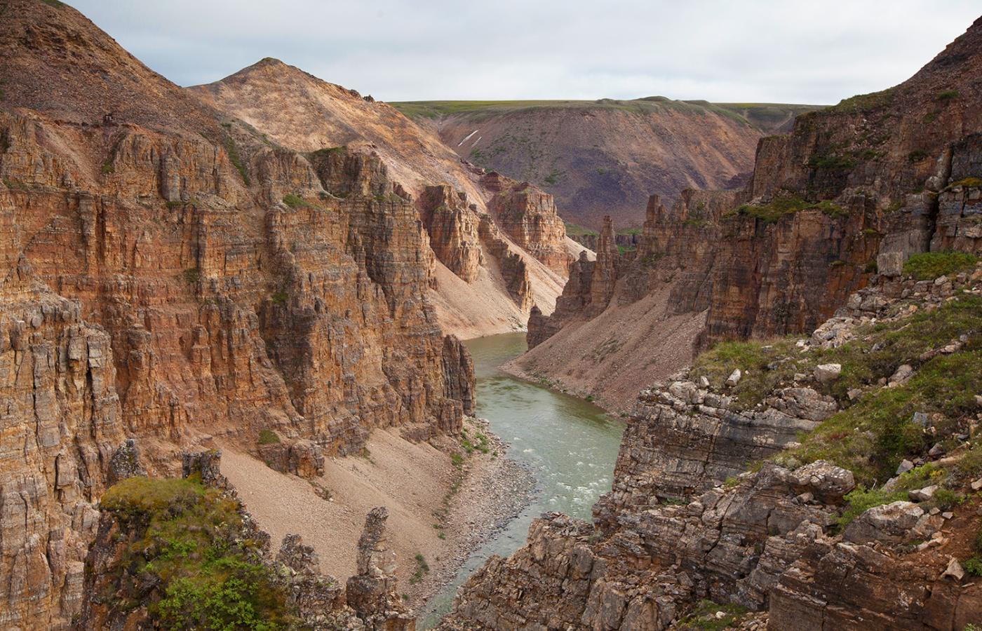 Tuktut Nogait National Park in the NWT.