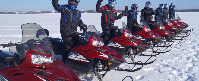 Snowmobile Tours - Carlos