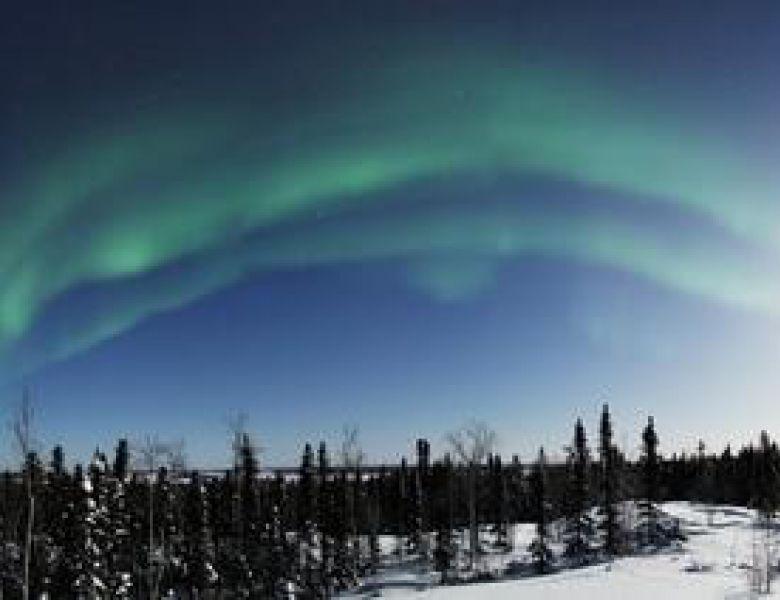 Aurora Winter - Kwon Aurora Panorama