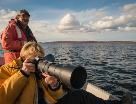 The BIG picture: a shutterbug's delight at Peterson's Point Lake Lodge