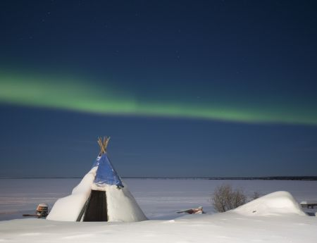teepee and aurora deline
